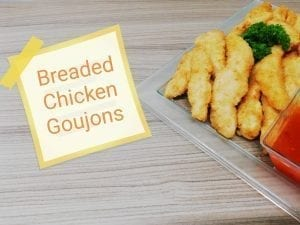 Breaded Chicken Goujon