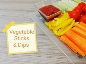 Vegetable Sticks & Dips